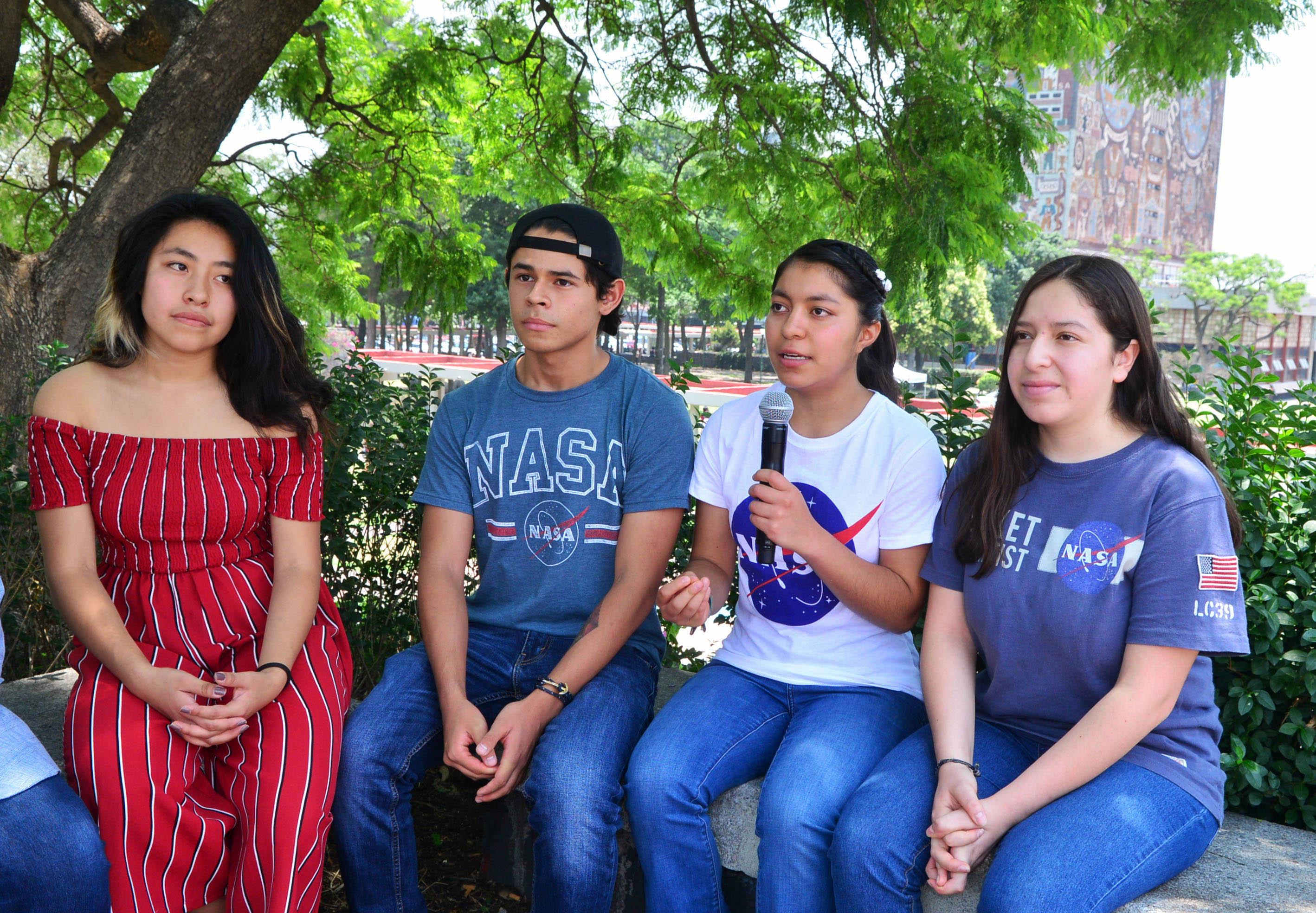 Destacan Jóvenes de la UNAM en concurso de la NASA