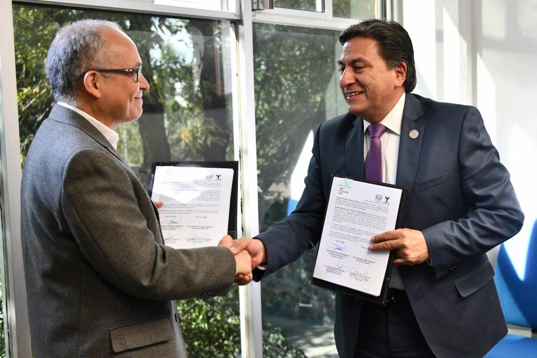 Celebran IECM y Facultad de Psicología de la UNAM Convenio de Apoyo y Colaboración