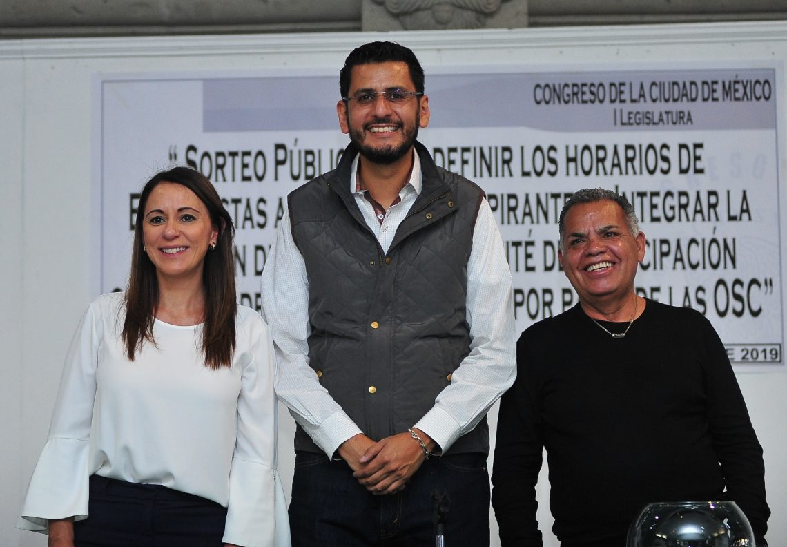 El Congreso capitalino avanza en el proceso para elegir a integrantes de la Comisión de Participación Ciudadana