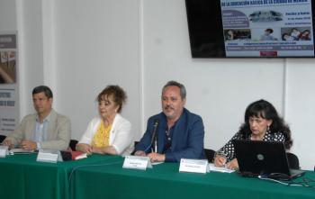 El Congreso local realiza el foro retos y perspectivas de la educación básica en la CDMX