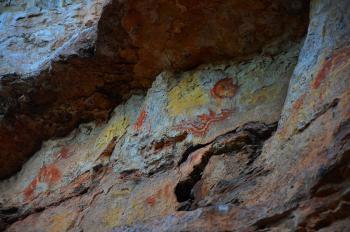 INAH rescatará gran paramento con pintura rupestre en la Mixteca Baja oaxaqueña