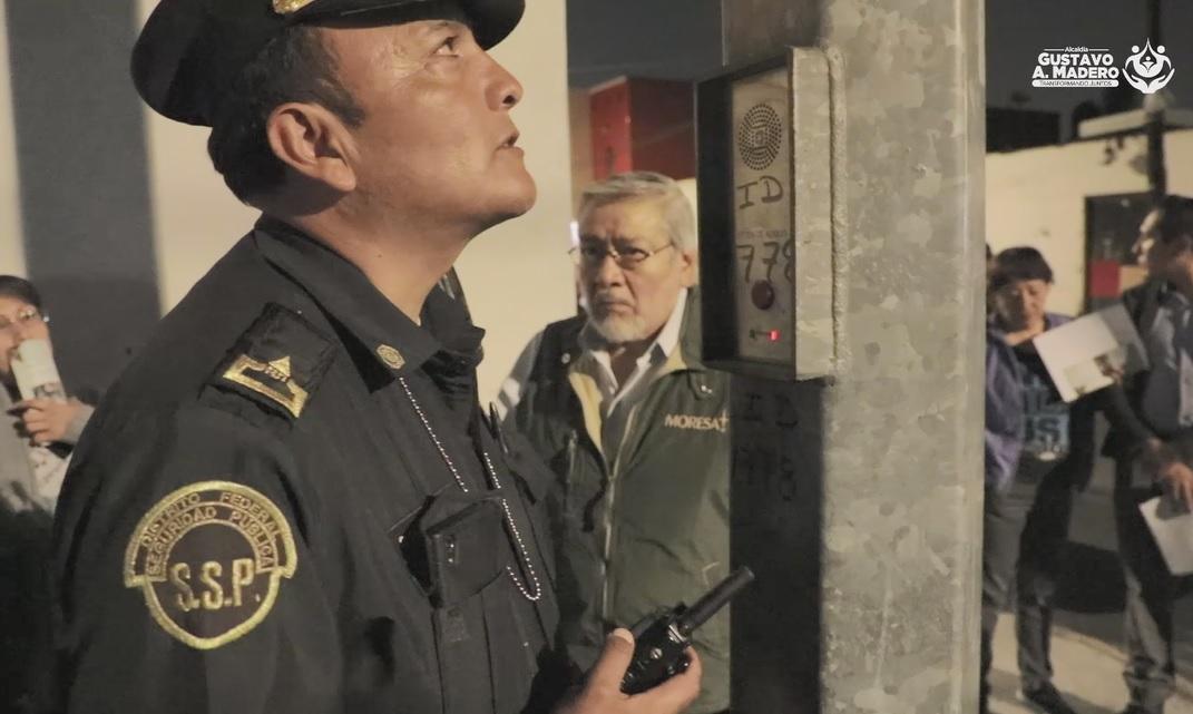 Acciones para inhibir el delito en la Alcaldía GAM