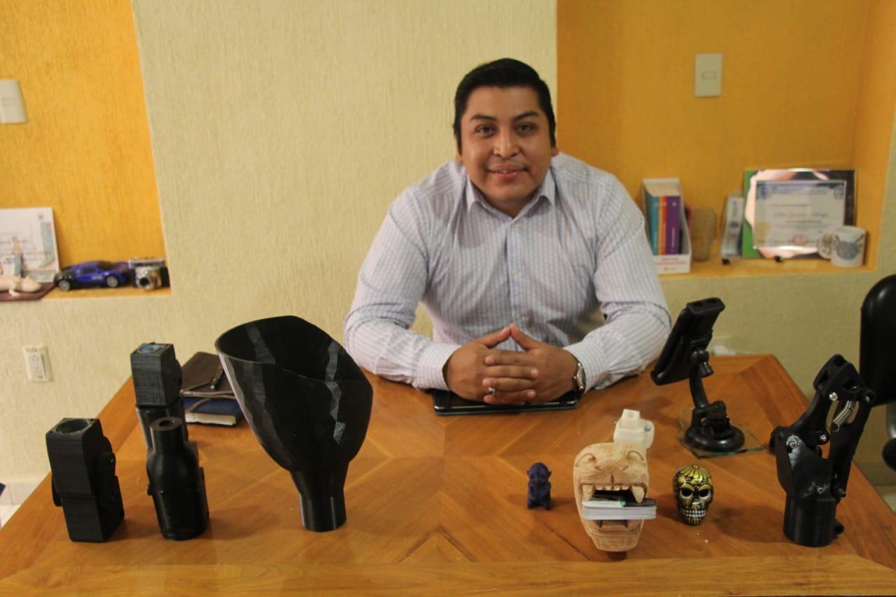 Joven Xochimilca desarrolla Prótesis para personas de escasos recursos