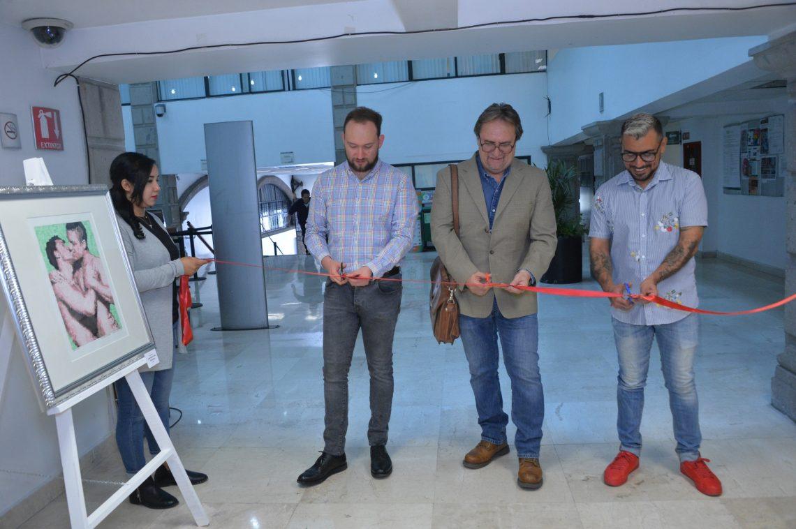 En el Congreso CDMX se inaugura muestra de arte LGBTTTI