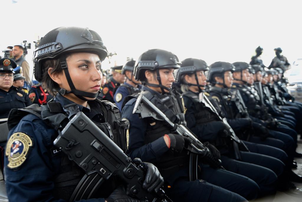Presenta Gobierno de la CDMX Comando de Operaciones Especiales y la Unidad Táctica de Auxilio a la Población