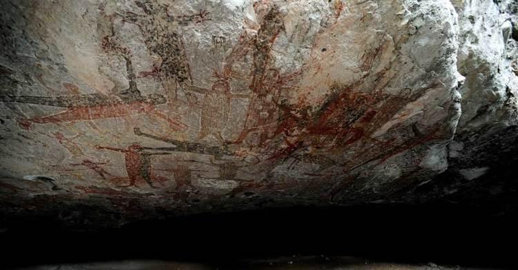 Pinturas rupestres en México son constancia de la humanidad a través del arte