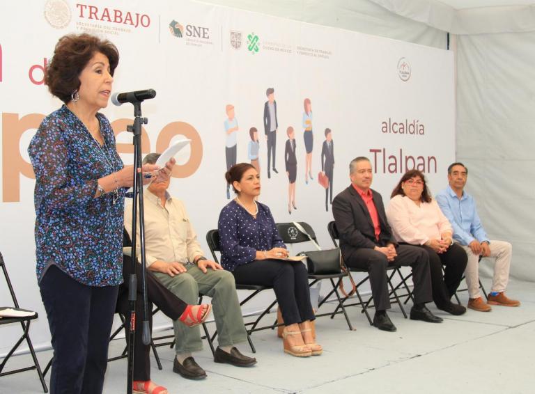 Tlalpan, Gobierno Federal y CDMX realizan Feria de Empleo