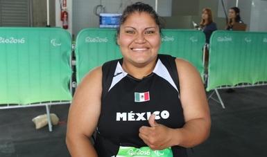Apunta Floralia Estrada al oro en Juegos Parapanamericanos Lima 2019