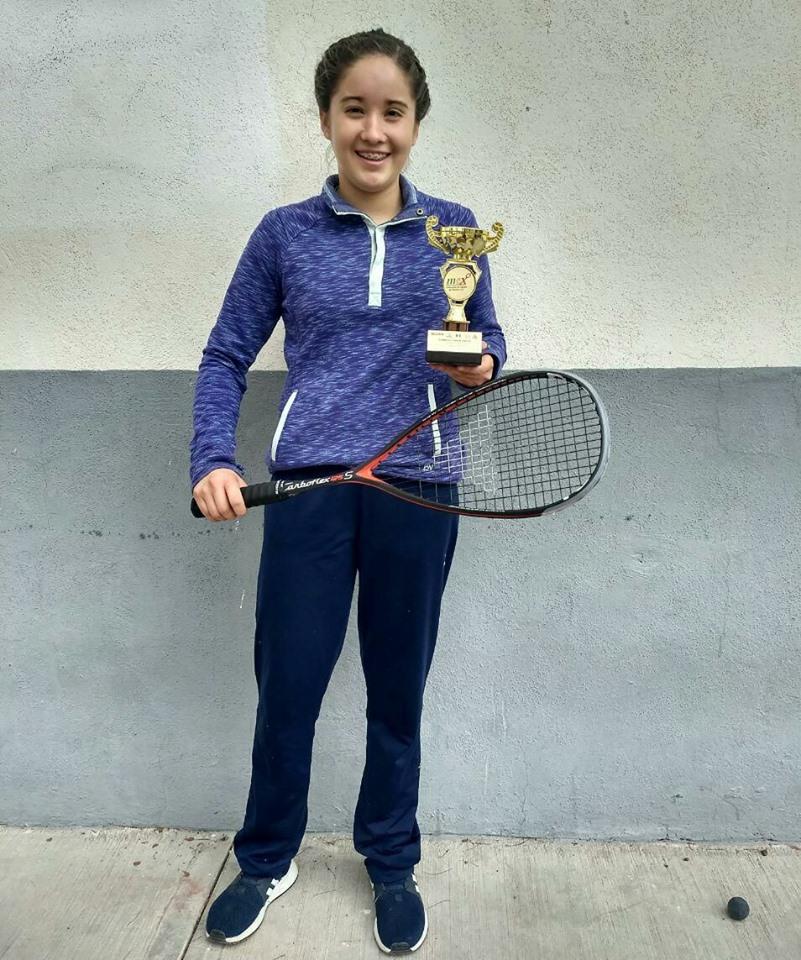 Va squashista Dina Anguiano por el podio en sus primeros Juegos Panamericanos