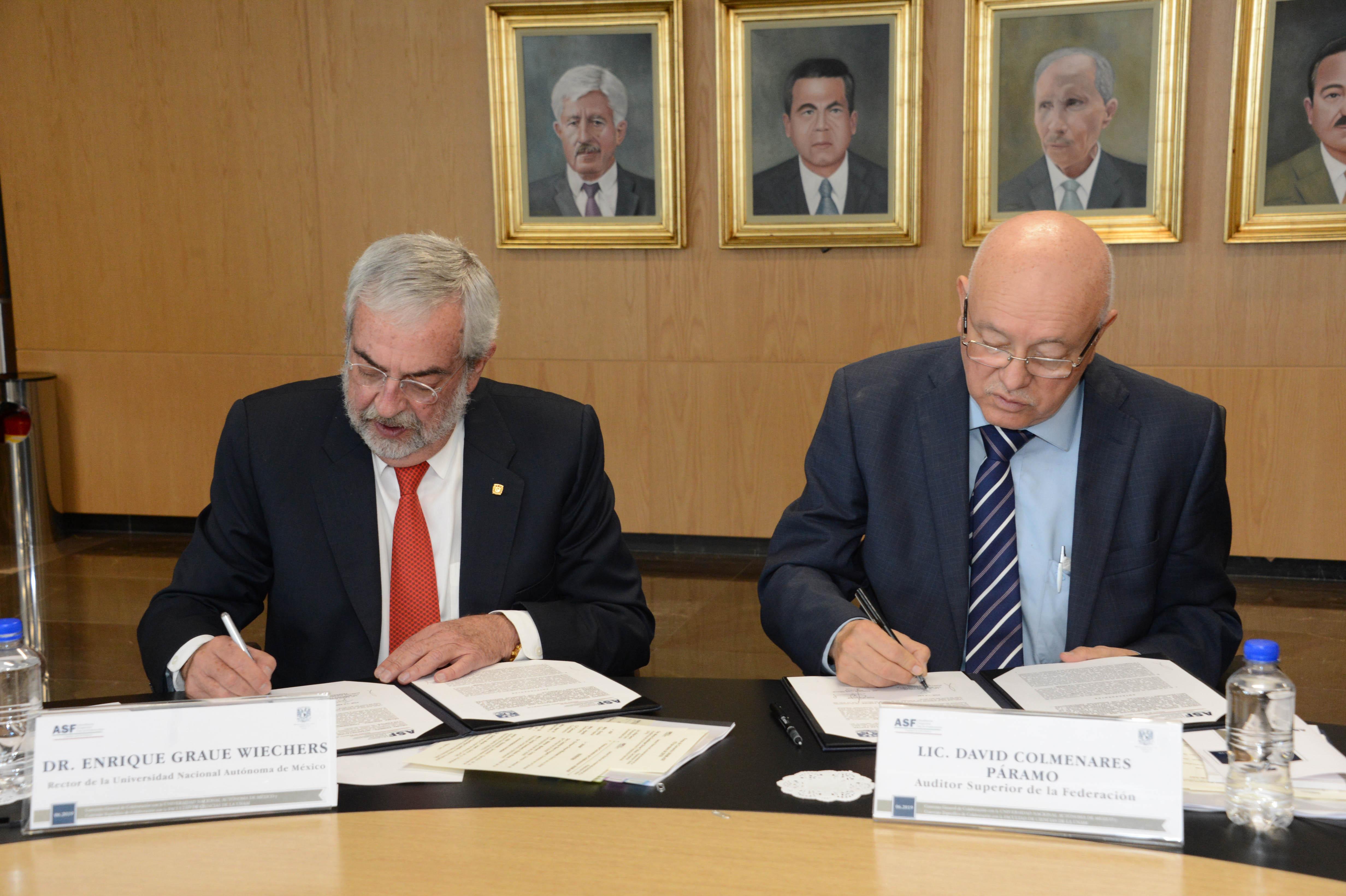 Impulsan Cultura de Fiscalización y Rendición de Cuentas UNAM y ASF