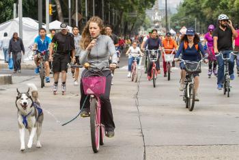 Celebra el Gobierno de la Ciudad el Mes de la Bicicleta con actividades Ciclistas