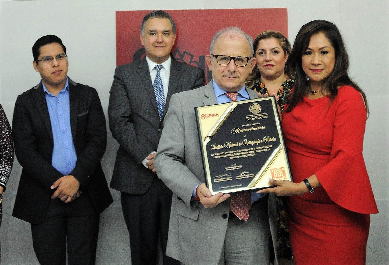 Con sesión solemne Congreso de San Luis Potosí conmemora el 80 aniversario del INAH