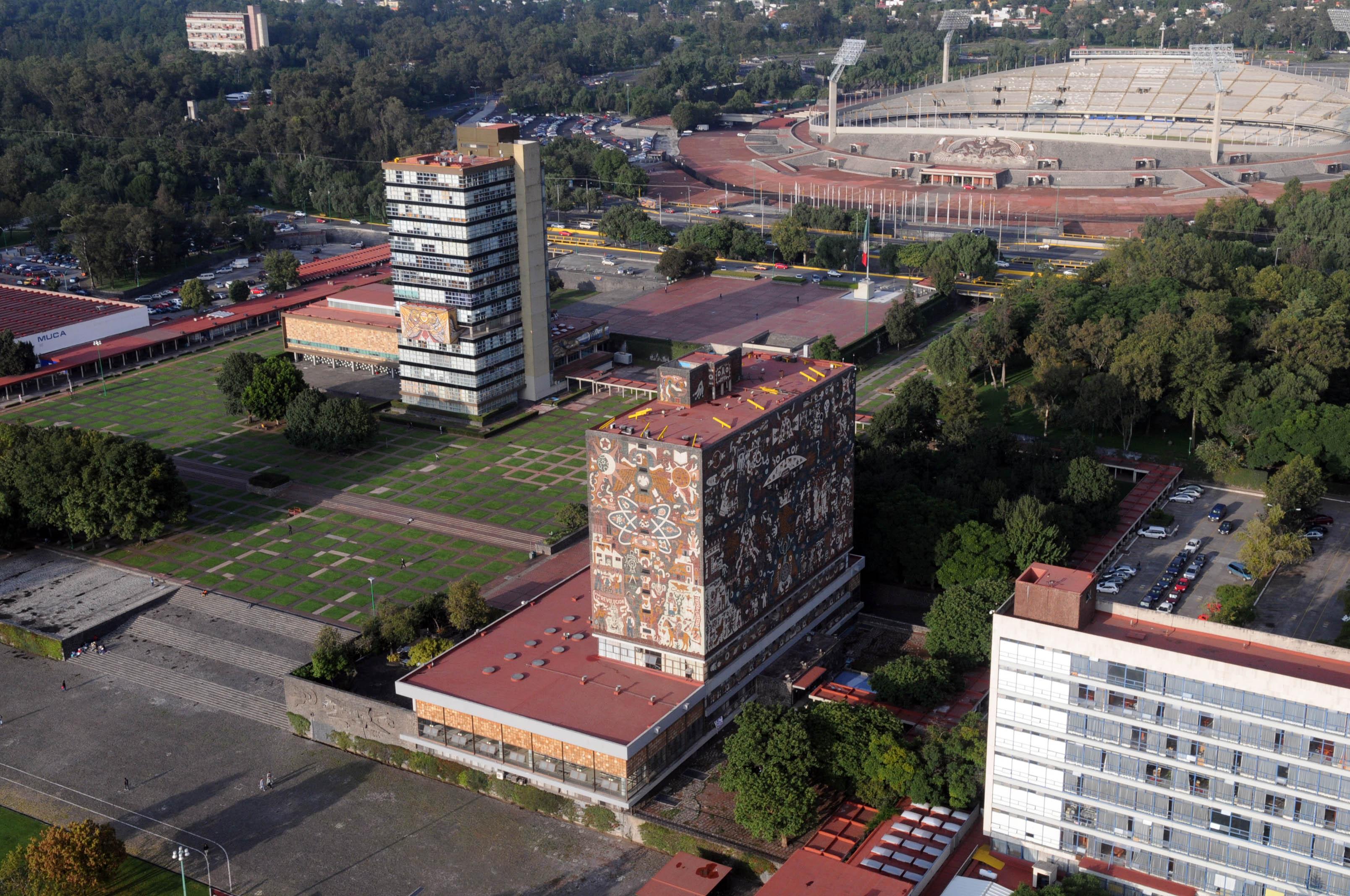 Cumple Ciudad Universitaria 12 años de ser patrimonio Mundial