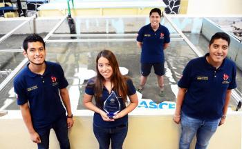 Obtiene la UNAM triunfo histórico en certamen Nacional de Ingeniería Civil en Estados Unidos
