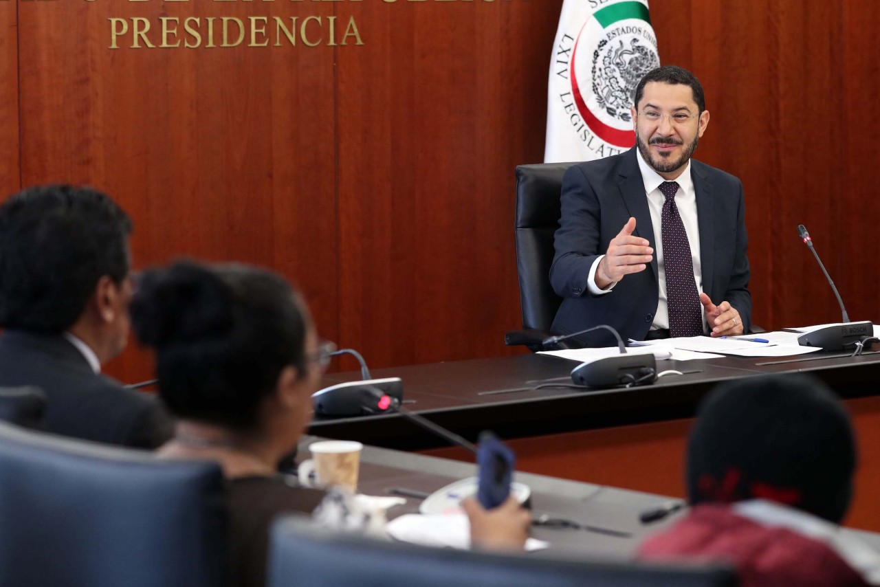Impulsa Martí Batres mayor apertura del Congreso de la Unión a la ciudadanía