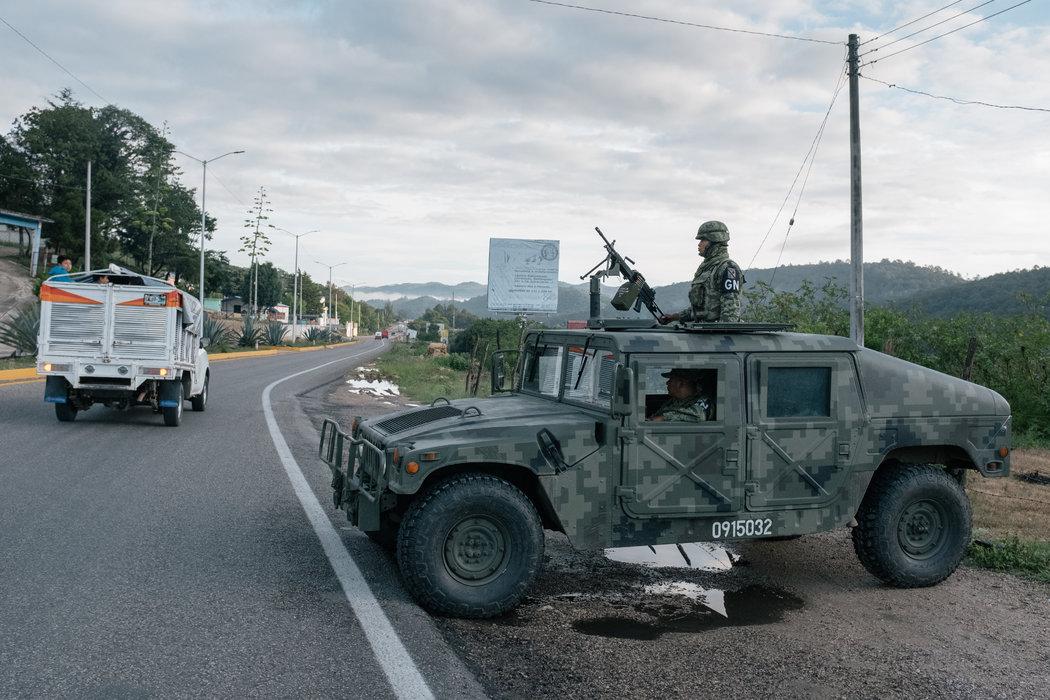 La nueva Guardia Nacional mexicana propaga miedo entre quienes migran