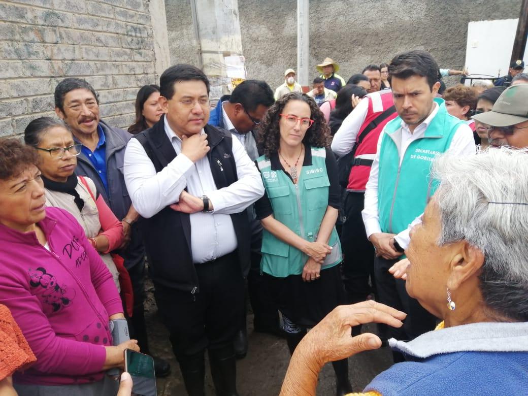 Implementa Xochimilco Programa emergente por inundaciones y deslaves
