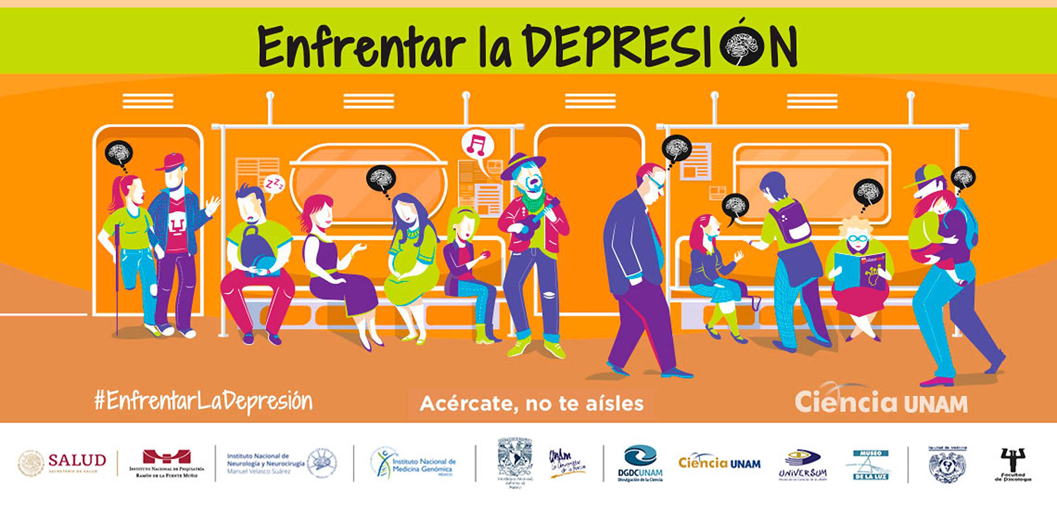 Universum con el diálogo las voces de la depresión