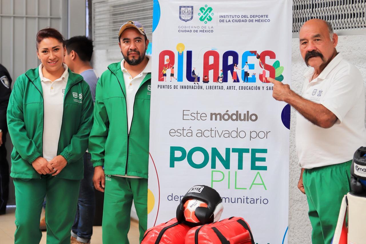Con variada oferta deportiva se pusieron en marcha los PILARES, Zapata y Fortaleza en la alcaldía de Iztacalco