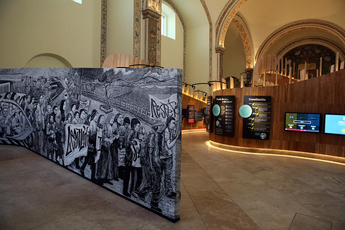 Por su Diseño Interior otorgan a Museo de las Constituciones de la UNAM Premio Red Dot Award