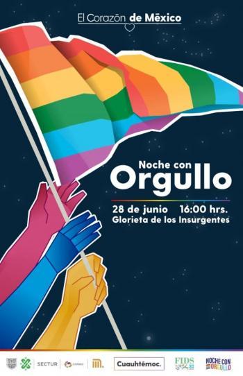 Participará la Alcaldía Cuauhtémoc en Noche con Orgullo