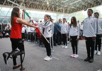 Abandera Ana Gabriela Guevara a delegación mexicana rumbo a la Universiada Mundial 2019