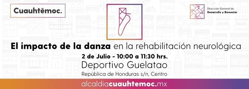 Alcaldía Cuauhtémoc acerca el arte y la danza a la comunidad