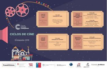 Alcaldía invita al Ciclo de Cine Cuauhtémoc