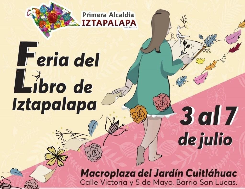 Con una amplia Oferta Editorial, Cultural y Musical, la Alcaldía Iztapalapa realiza Feria del Libro del 3 al 7 de julio