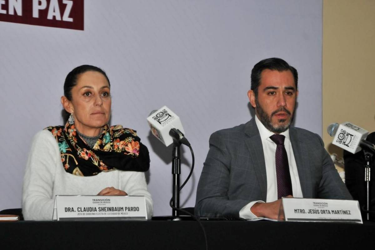 Anuncia Jefa de Gobierno los Cinco Ejes para contar con una Ciudad Segura