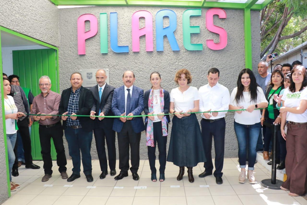 Inauguran PILARES en Iztacalco como alternativa para la creación de comunidades libres y seguras