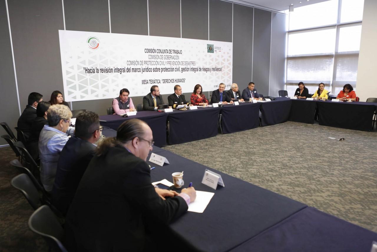 Enfoque proactivo de derechos humanos se incluirá en Ley General para la Gestión Integral de Riesgos de Desastres