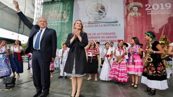 Es un proceso sin retorno, México se convertirá en potencia económica con dimensión social, afirma presidente López Obrador en el Zócalo