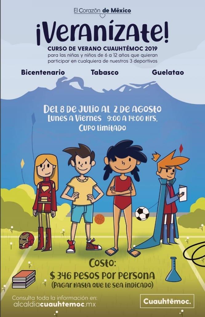 En estas vacaciones convocan a niñas y niños a formar parte del curso Veranízate