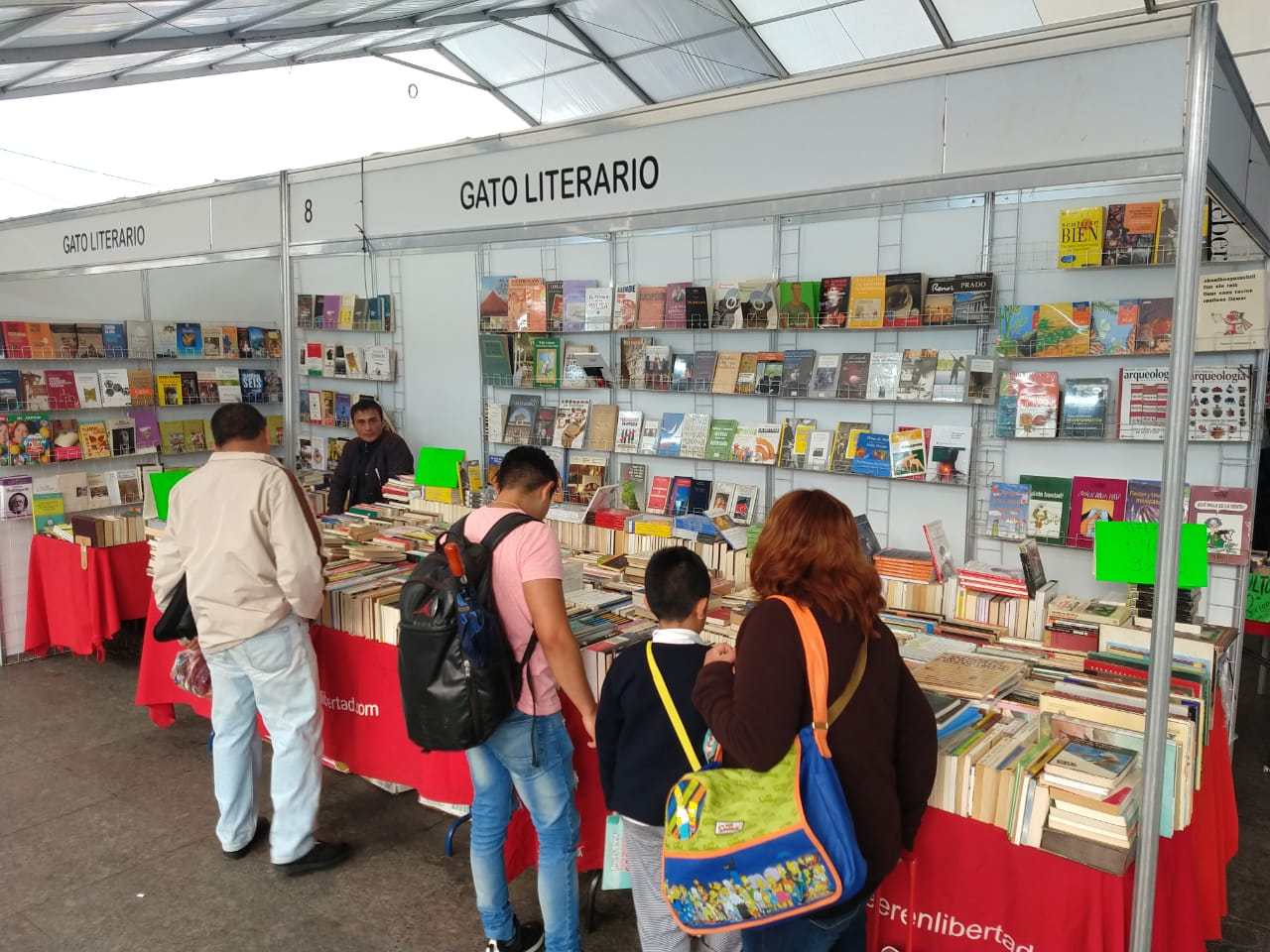 Inaugura Clara Brugada la Primera Feria del Libro Iztapalapa 2019