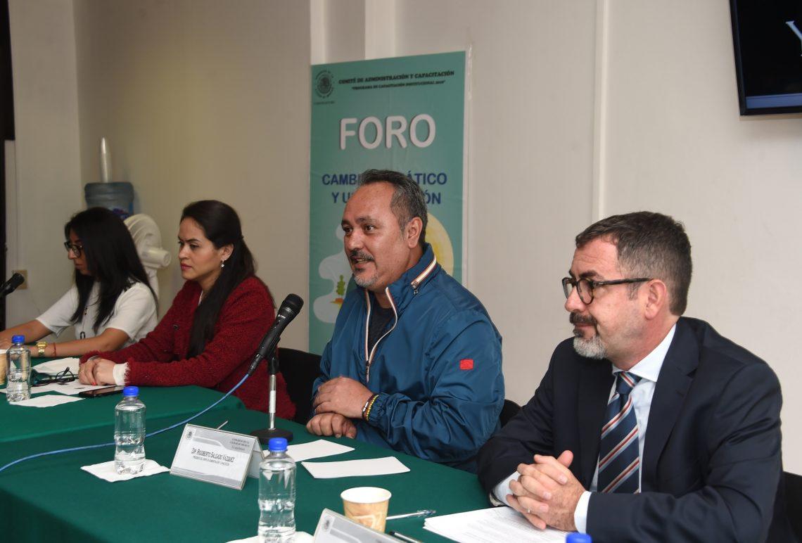 El Congreso local organizó el foro Cambio Climático y Urbanización