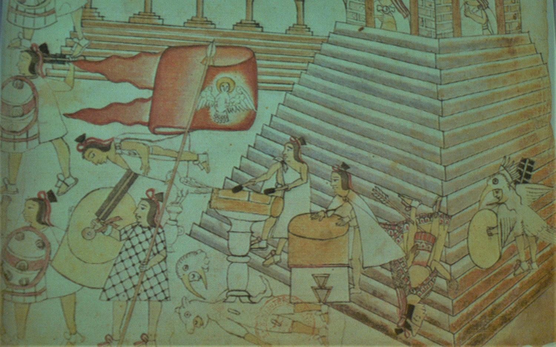 Relectura de los códices da luces sobre episodios de la Conquista como la Matanza de Tóxcatl