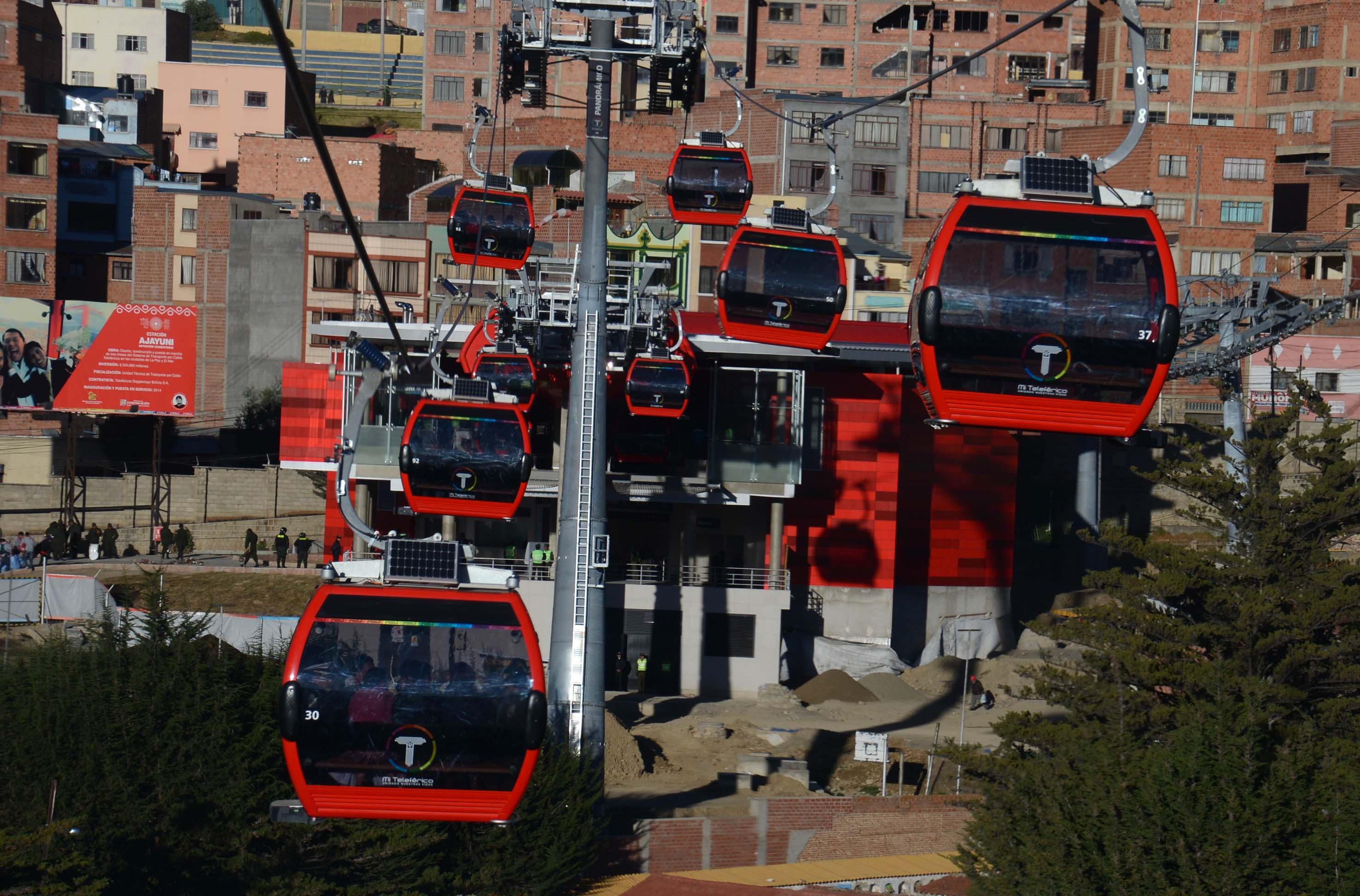 Firman Convenio de Colaboración el Órgano Regulador de Transporte y la Empresa Nacional Mi Teleférico de Bolivia