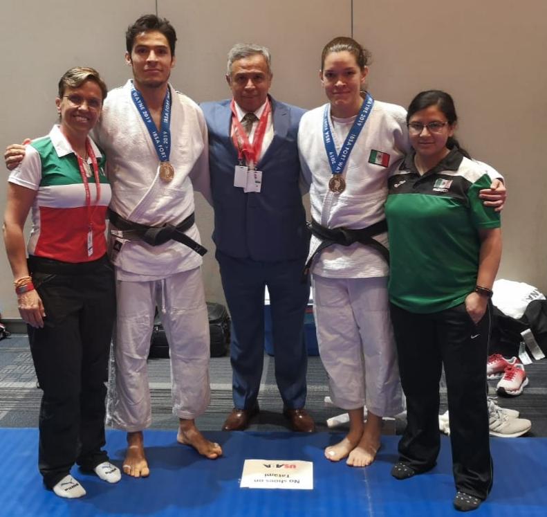 Triunfan Lenia Ruvalcaba y Eduardo Ávila en Clasificatorio Internacional en Estados Unidos