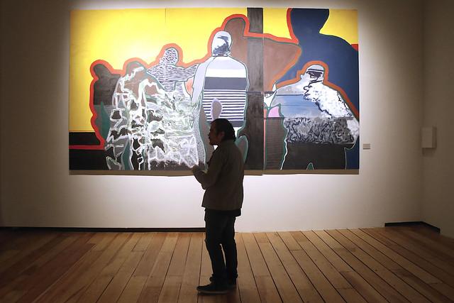 Abre al público la exposición Gilberto Aceves Navarro: Hoy en el Museo de la Ciudad de México
