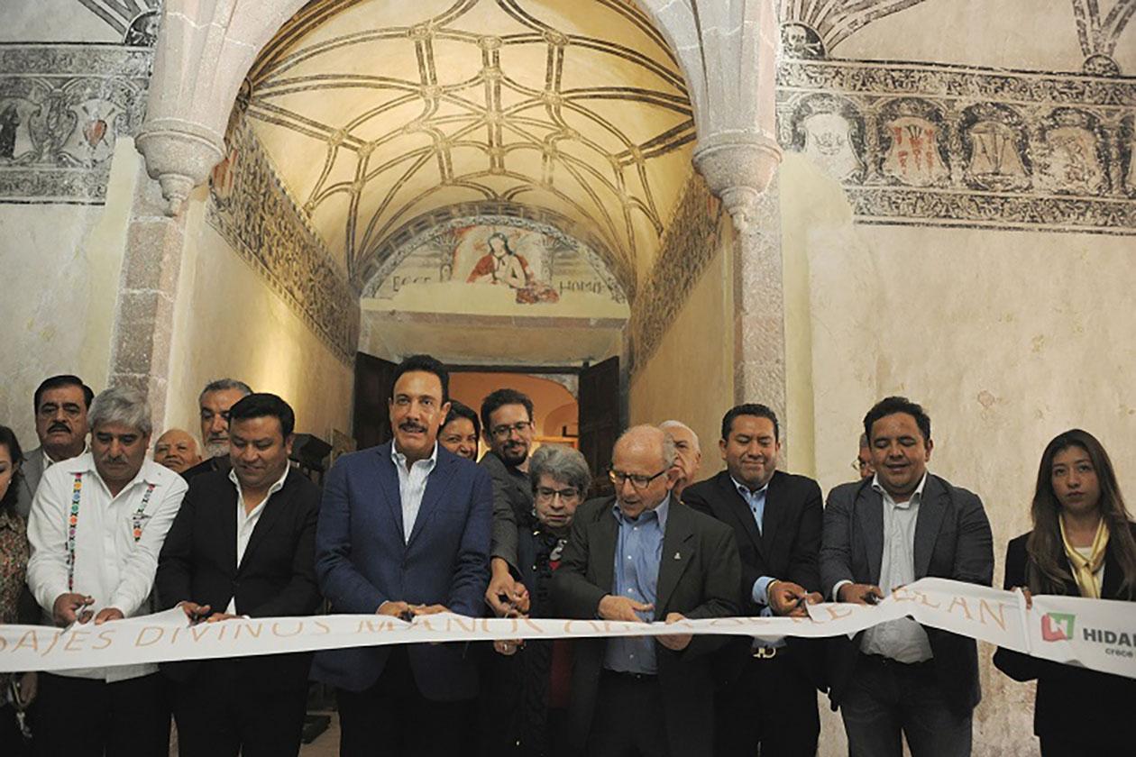 Exposición muestra la gran labor detrás de la restauración del patrimonio cultural