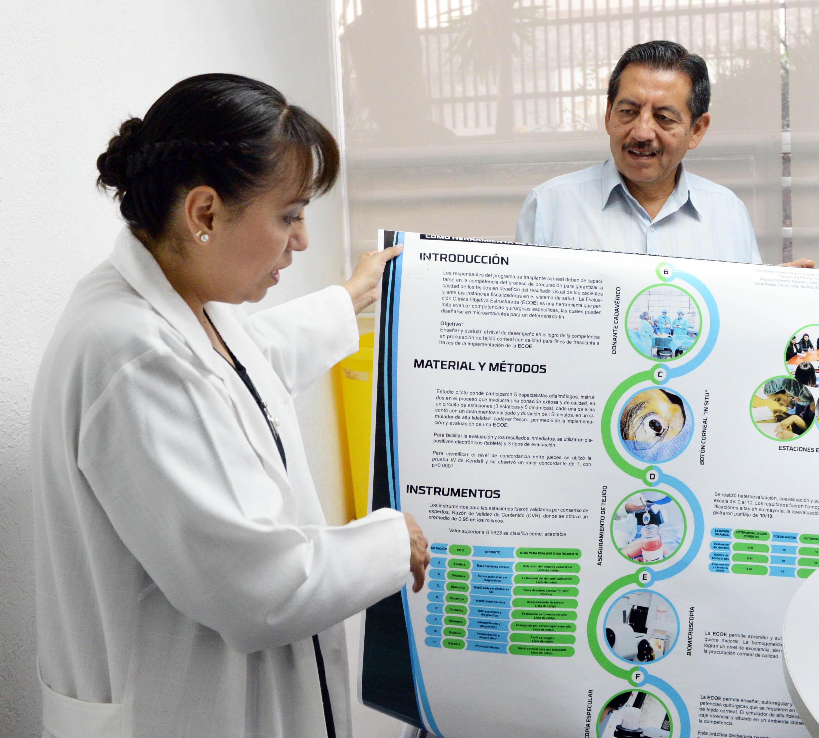 Desarrolla la UNAM Aditamento para el control de calidad de Córneas para Trasplante