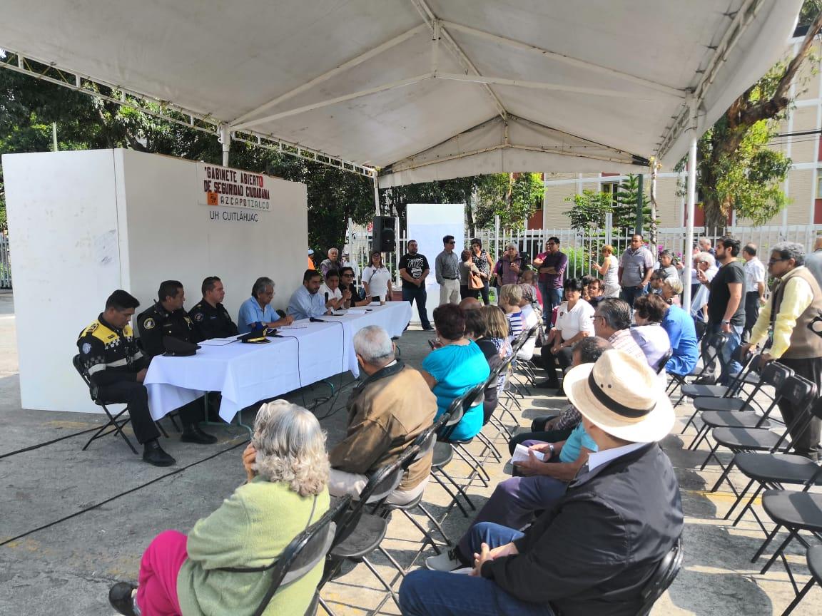 Audiencia Pública en la Unidad Habitacional Cuitláhuac