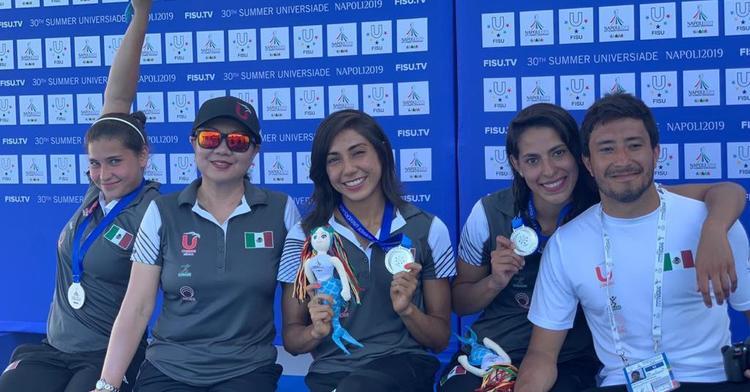 Logran clavadistas máximo total histórico de medallas en la Universiada Mundial 2019
