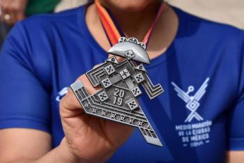 La Catrina tema central del Medio Maratón de la CDMX BBVA 2019
