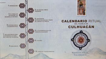 Antropólogos del INAH entregan al pueblo de Culhuacán investigación sobre su calendario ritual