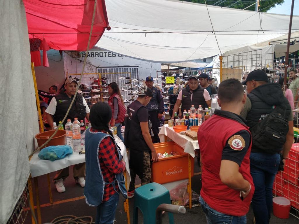 Operativo Tianguis Seguro de manera permanente en Alcaldía GAM