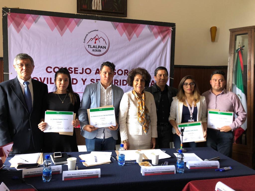 Tlalpan realiza Primera Sesión Ordinaria del Consejo Asesor de Movilidad y Seguridad Vial