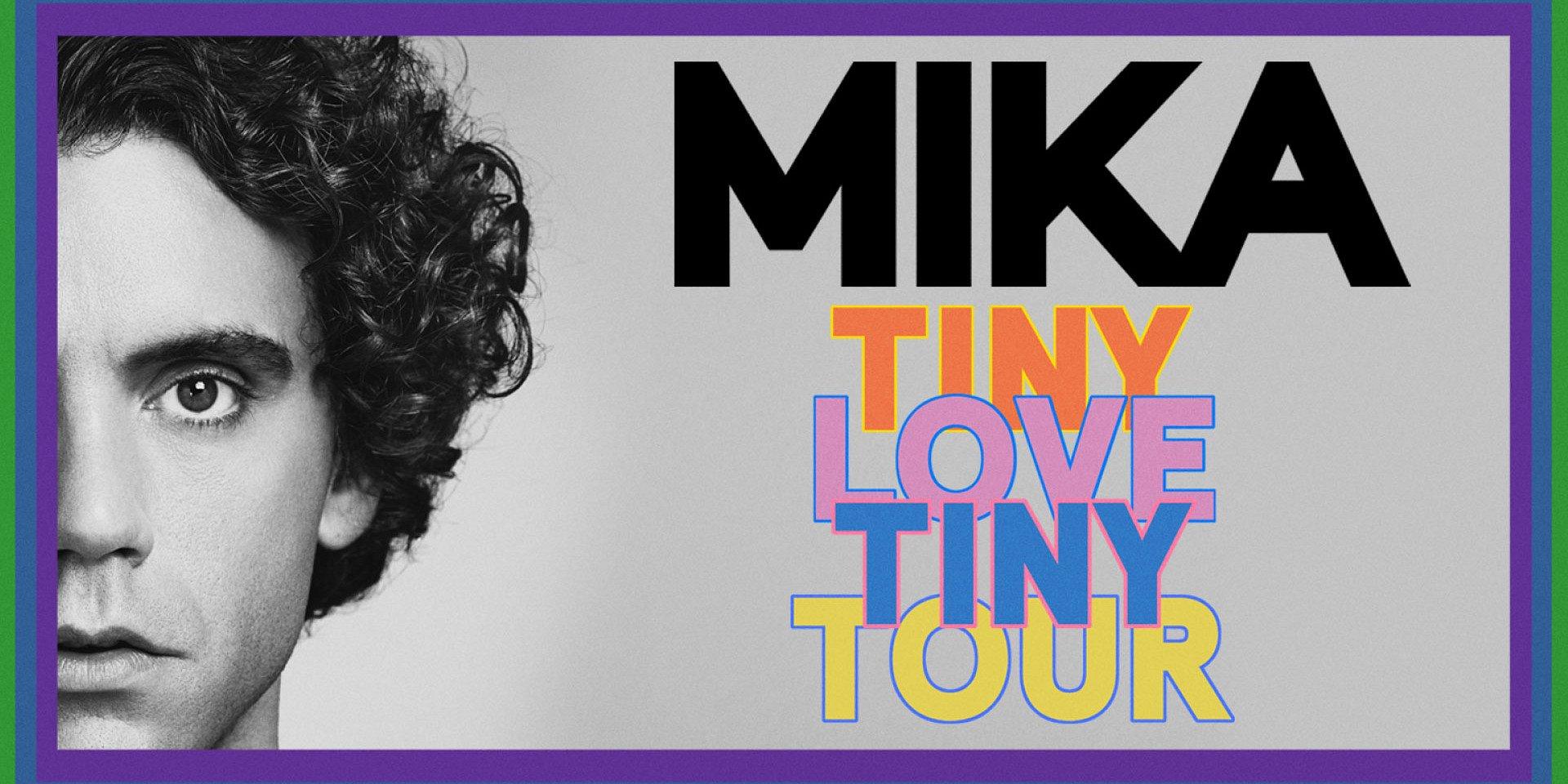 """Mika llegará a México con """"Tiny Love, Tiny Tour 2019"""""""
