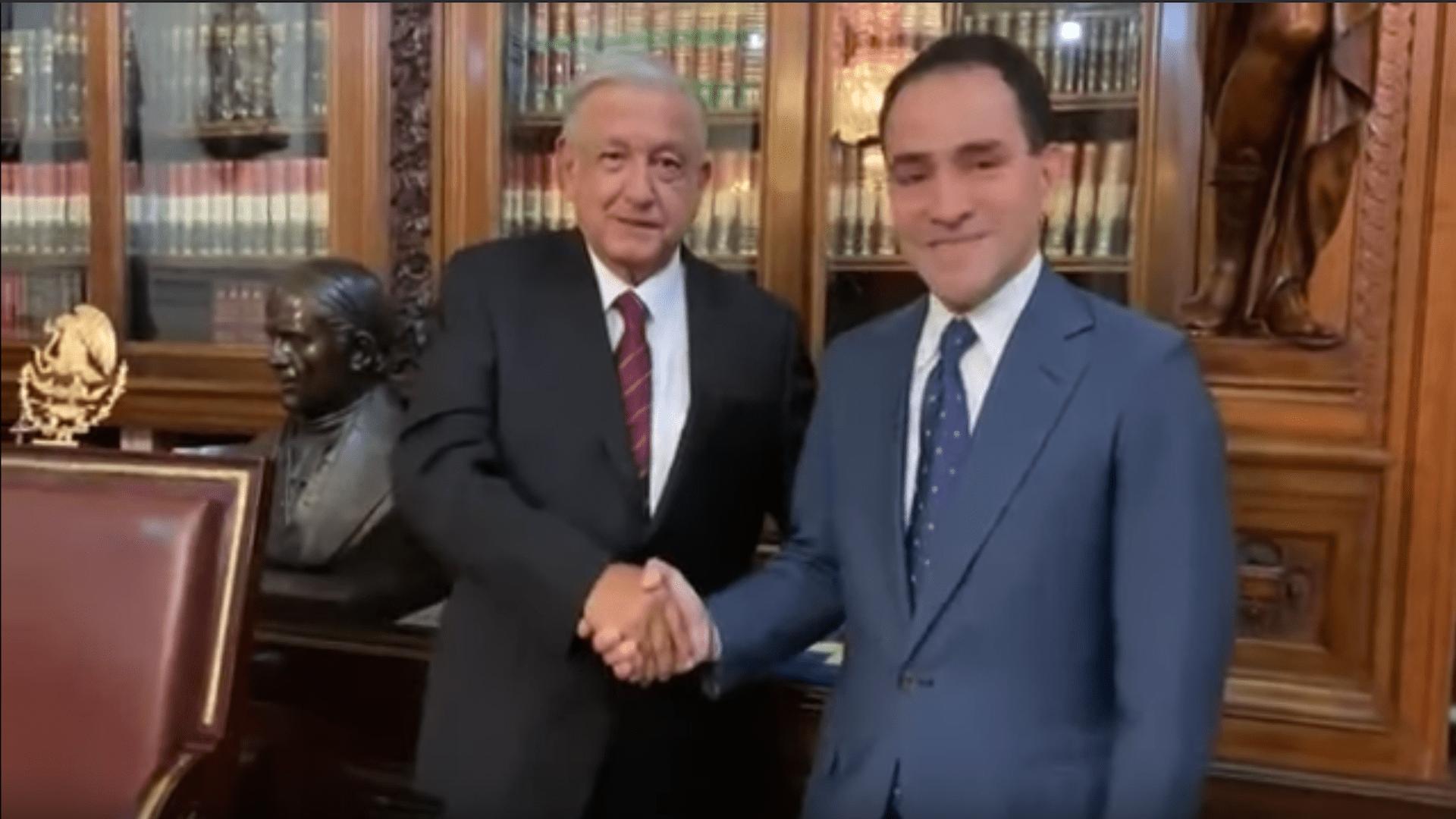 En Palacio Nacional, presidente López Obrador nombra a Arturo Herrera Gutiérrez como nuevo titular de la SHCP